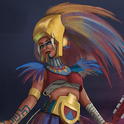 Lea tabary warrioraztec7