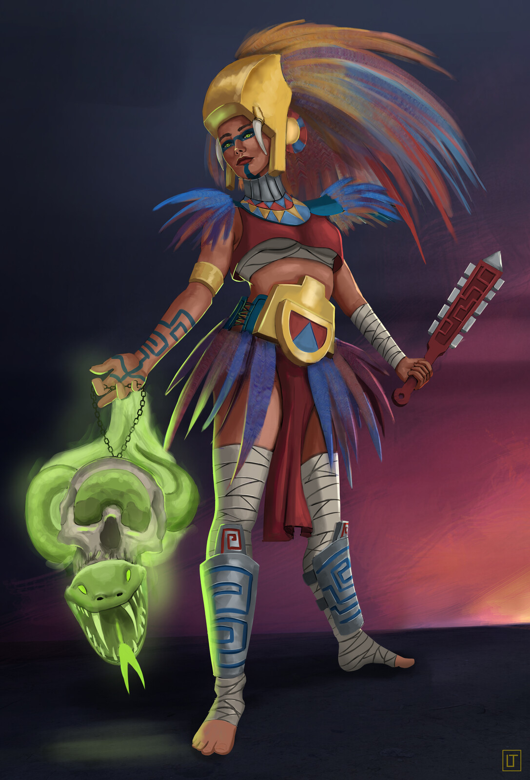Warrior Aztec