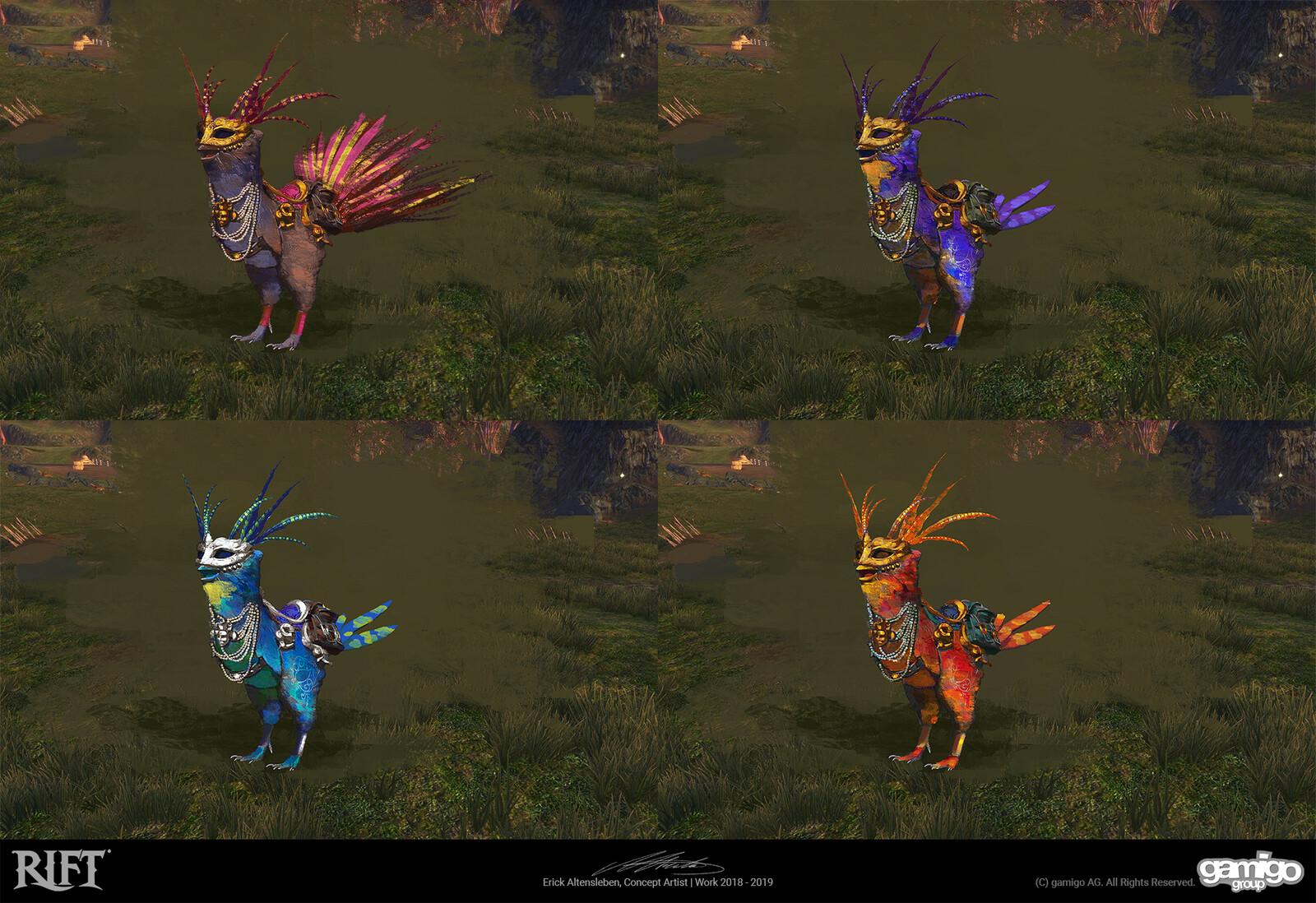 Carneval Mount Re-Skin Concept