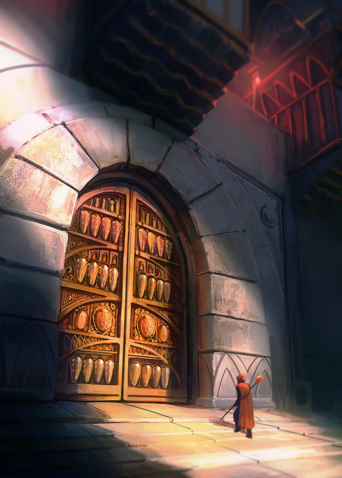 quick door detail