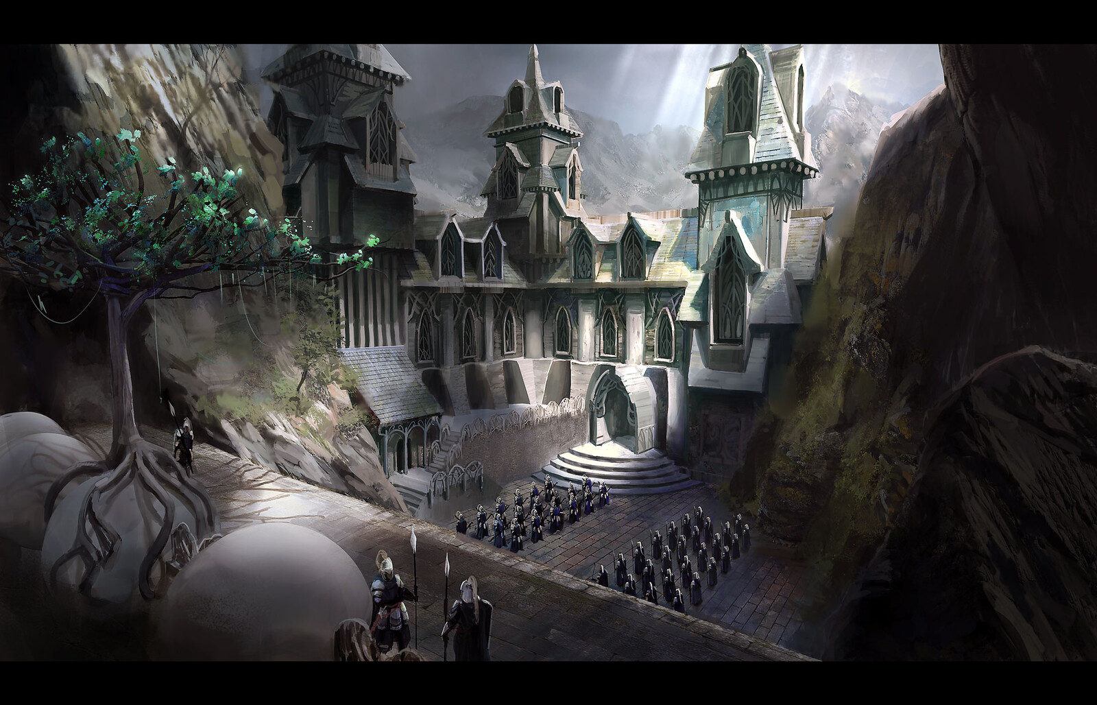 Gondolin Silver gate - From the Silmarillion