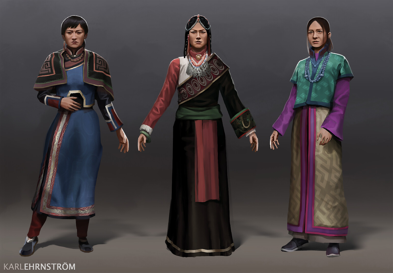 Women of the Steppes
