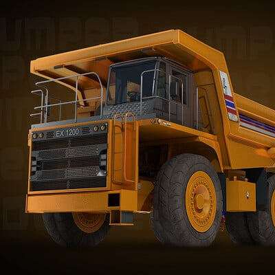 Adam guernsey heavy dump truck