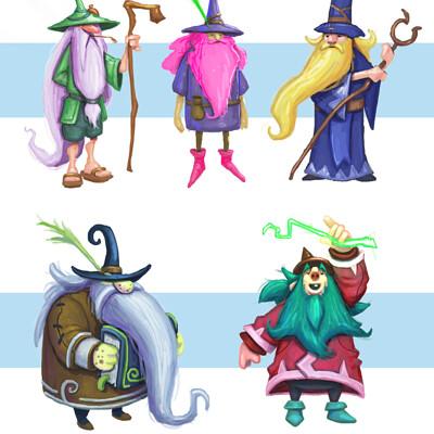 Chema samaniego 5 wizards