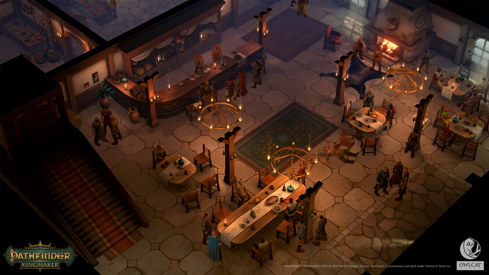 One of the ingame taverns