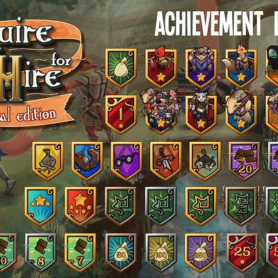 Jon merchant achievement badges