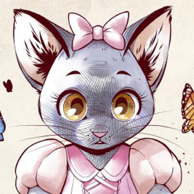 Liisa kareranta kitten