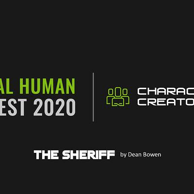 Dean bowen cc digital human contest 2020 splash the sheriff by dean bowen