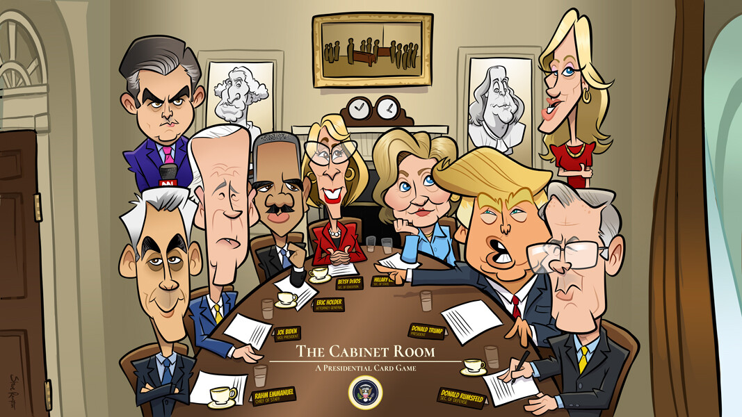 The Cabinet Room card game