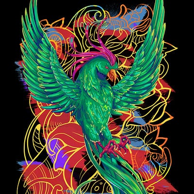 Phoenix (2) Shirt Design
