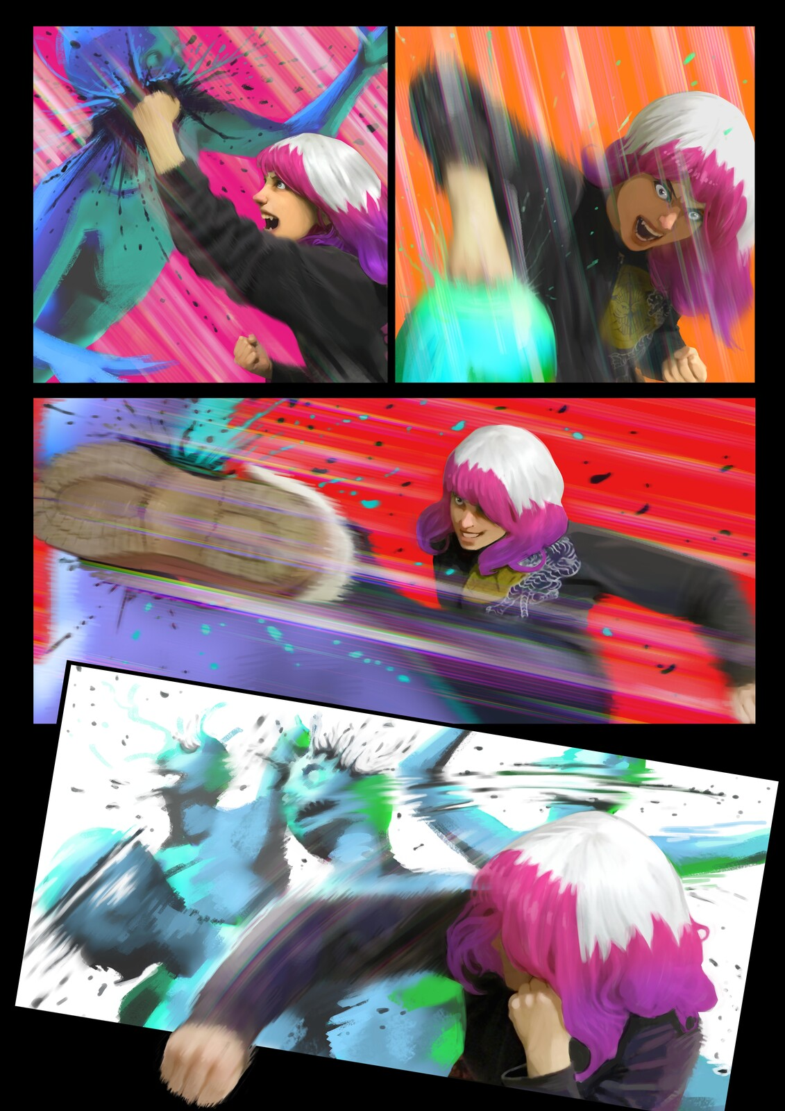 Fight Sequence