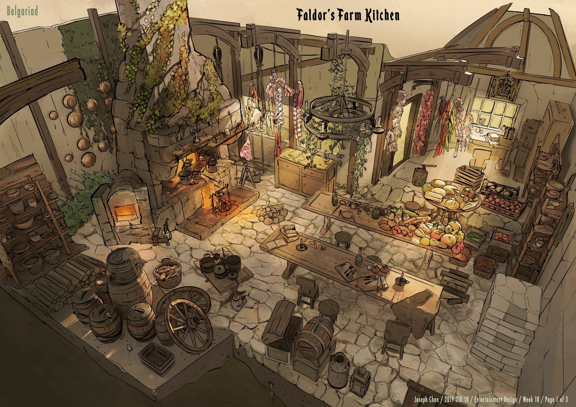 Fantasy Kitchen - Belgariad