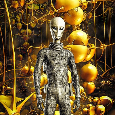 Luca oleastri yellow alien world
