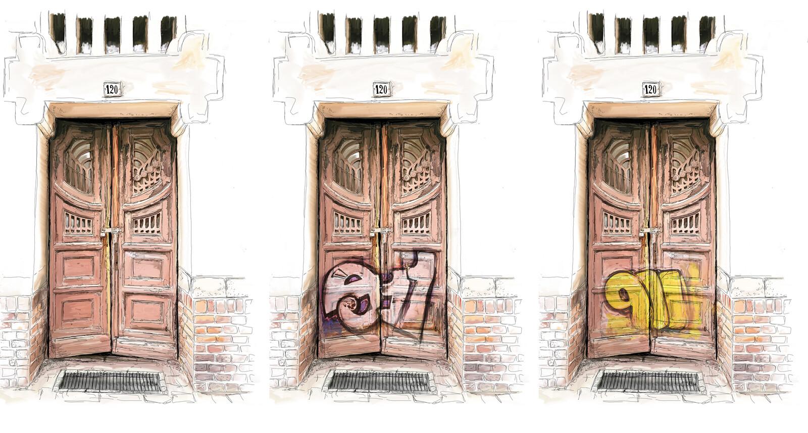 Graphity door