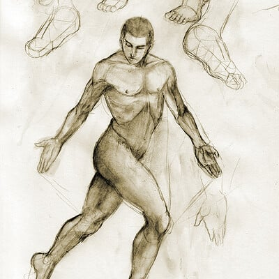 Male nude studies #2