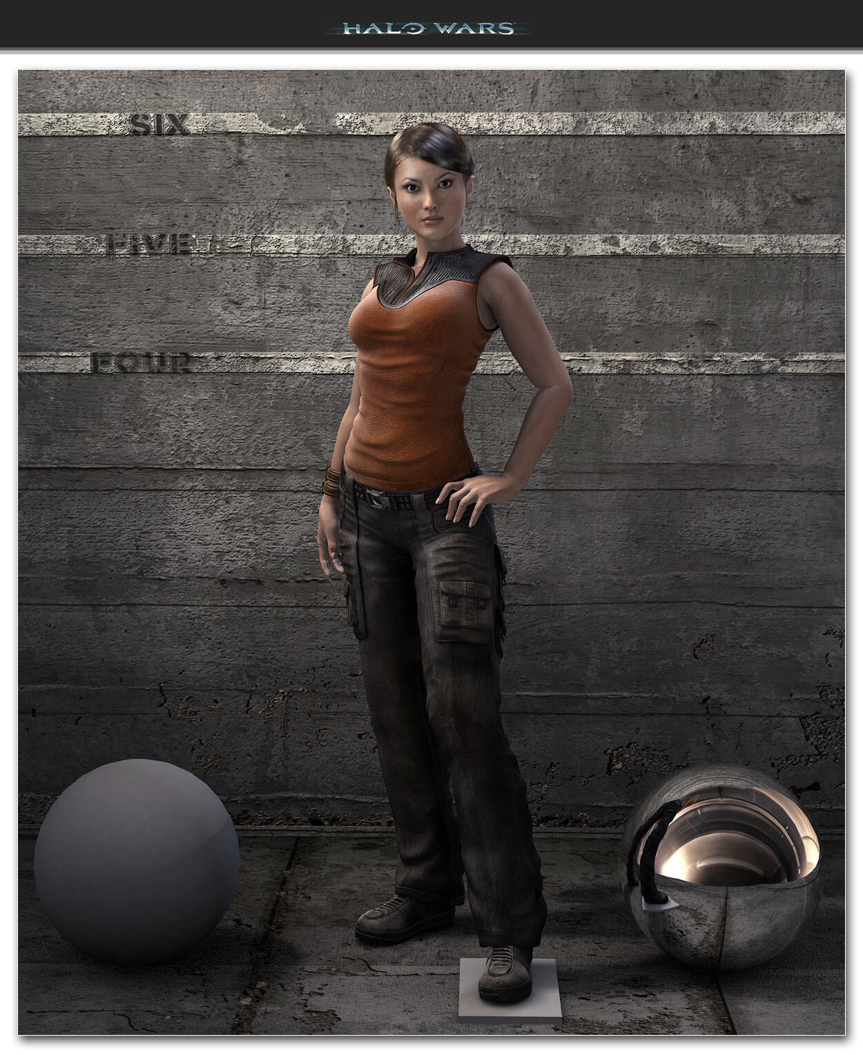 Halo Wars - Professor Ellen Anders Costume Base.