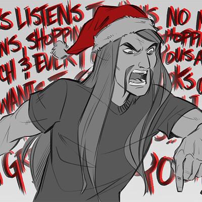 Shamine king secret santa ams metal 01