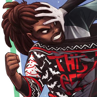 Shamine king ugly christmas sweaters get along shirt