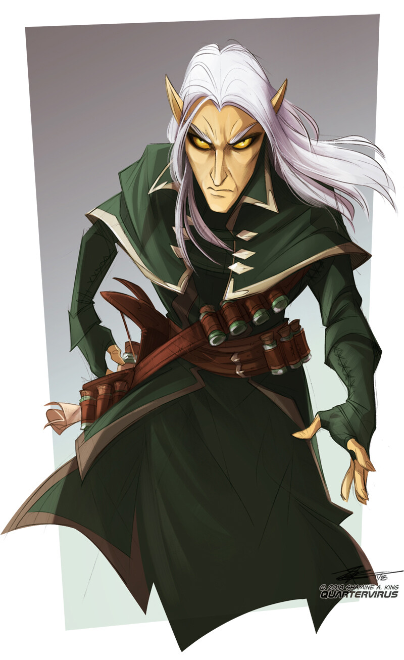 A little Aezar pre-vampirism, back when he was still Naerethil Loraethaine.