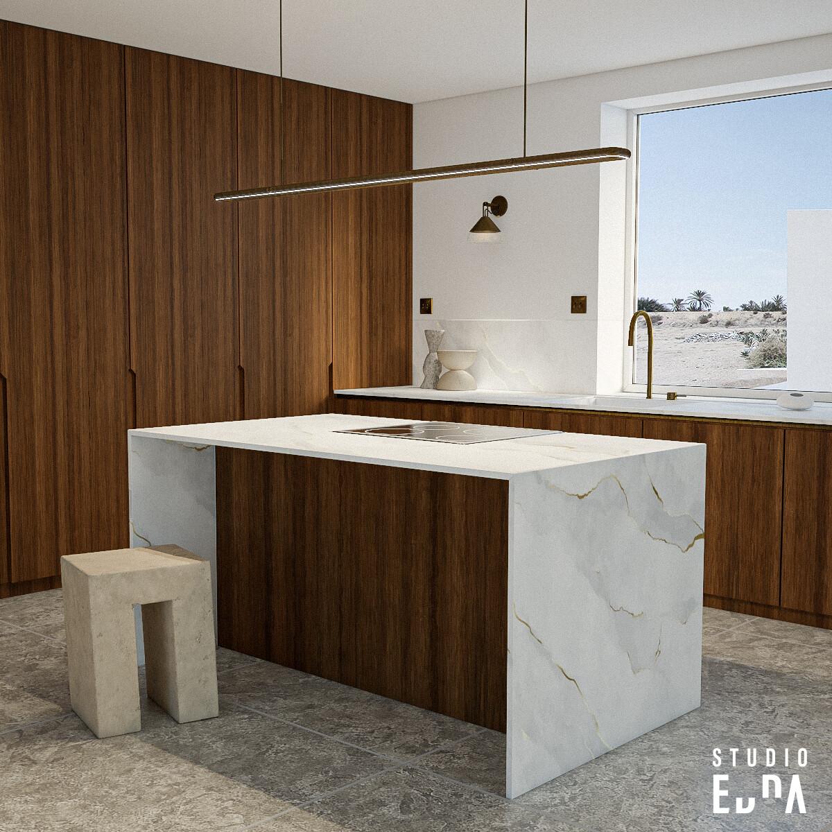 CG - Kitchen - Studio EDNA
