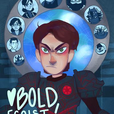 Bold egoist trollhunters