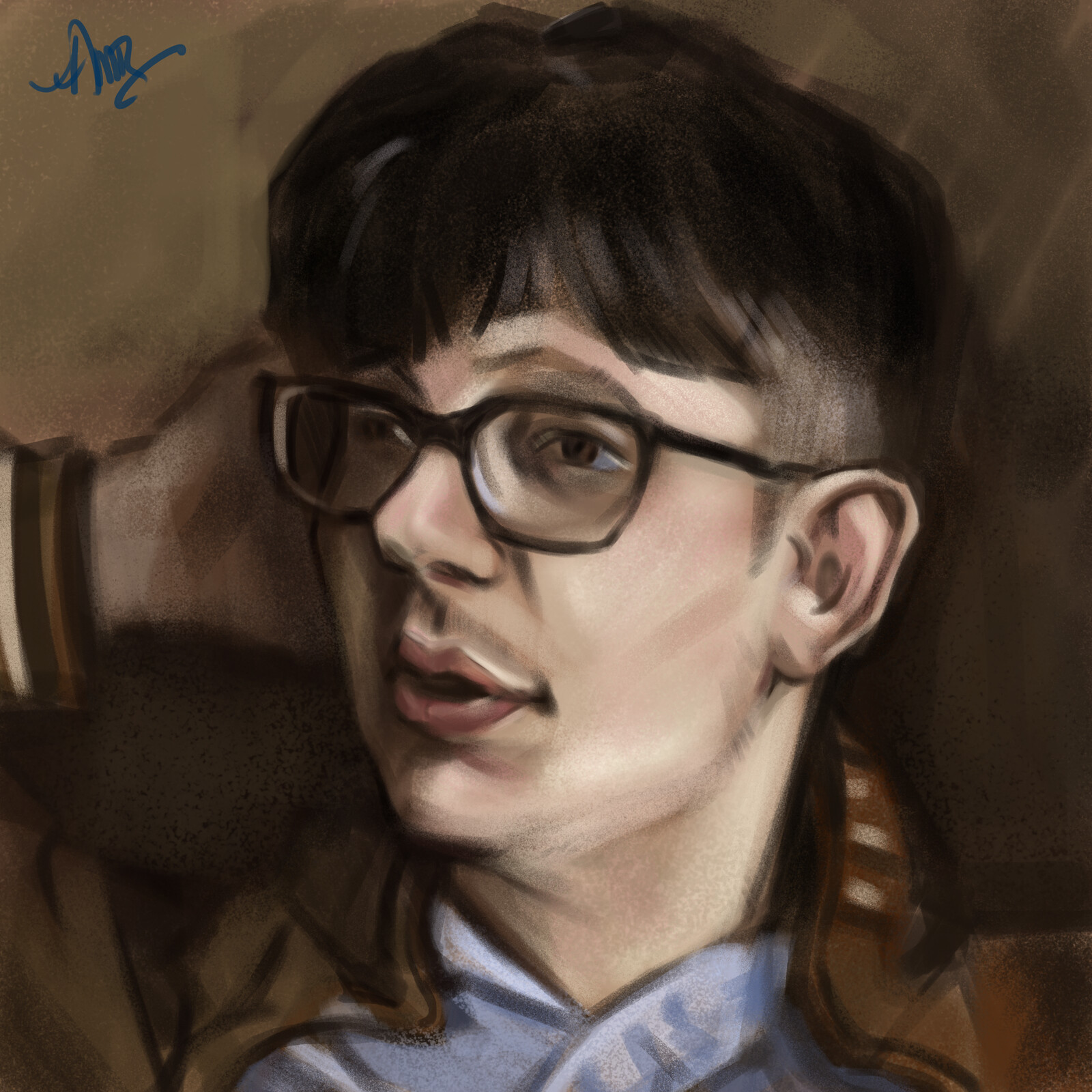Portrait Study - 1 hour / Digital