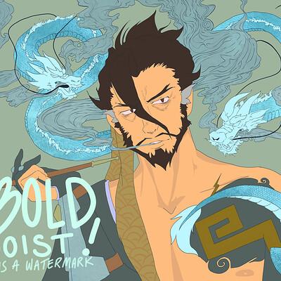 Bold egoist hanzo