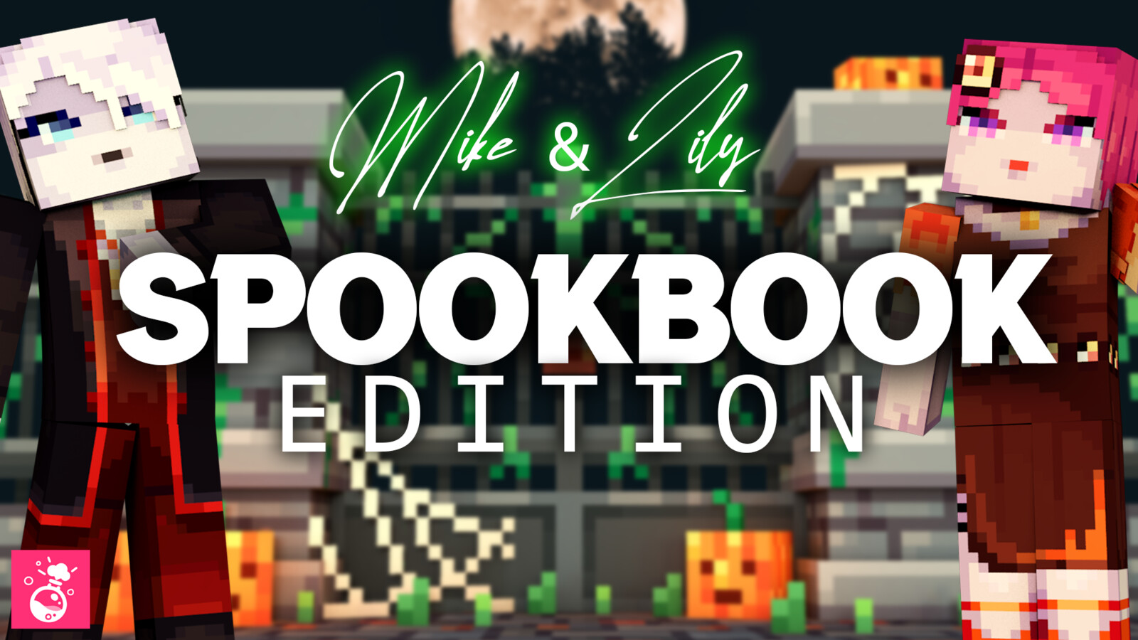 Lily & Mike: SpookBook Edition [HD Skin Pack]