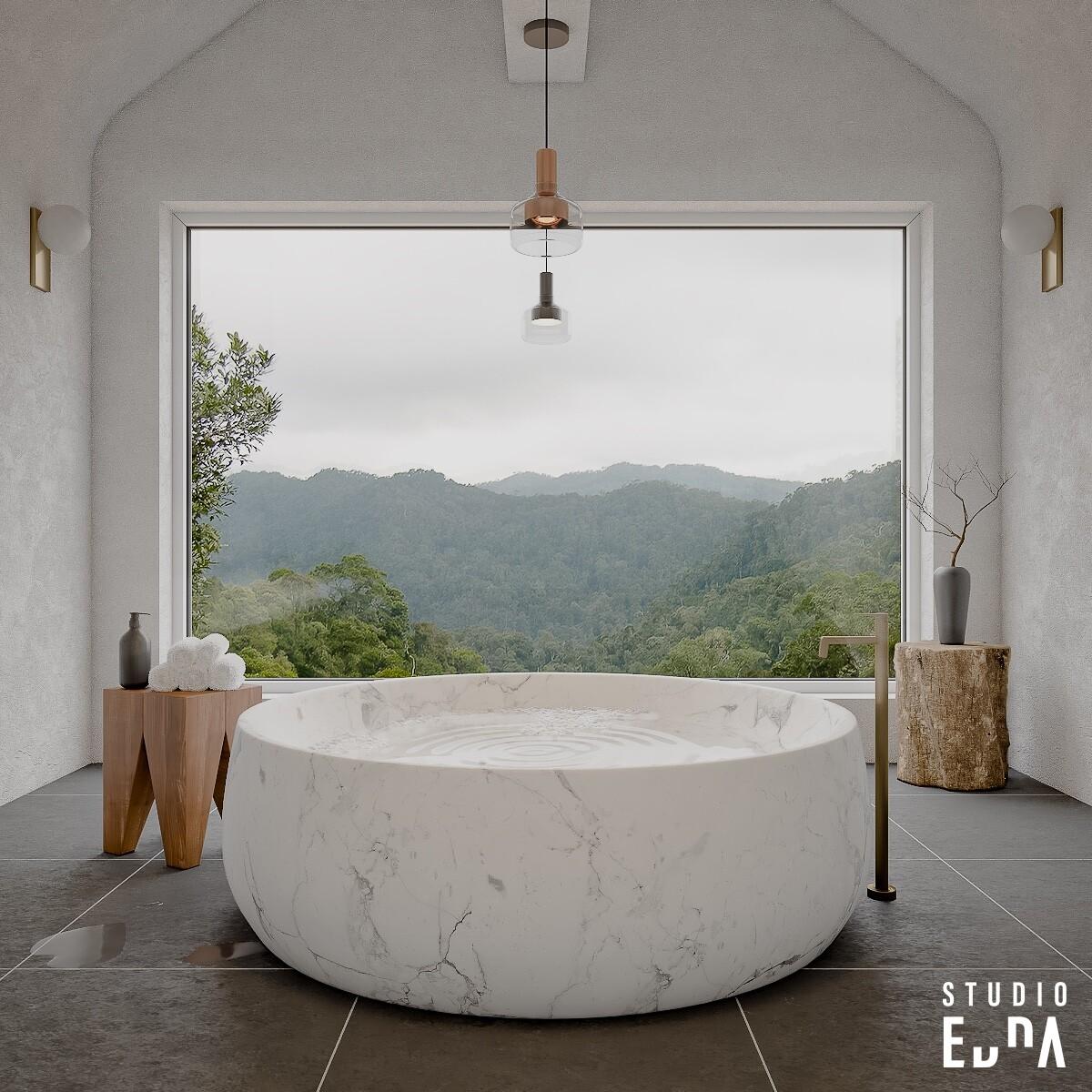 CG - Bathroom - Studio Edna 2nd view