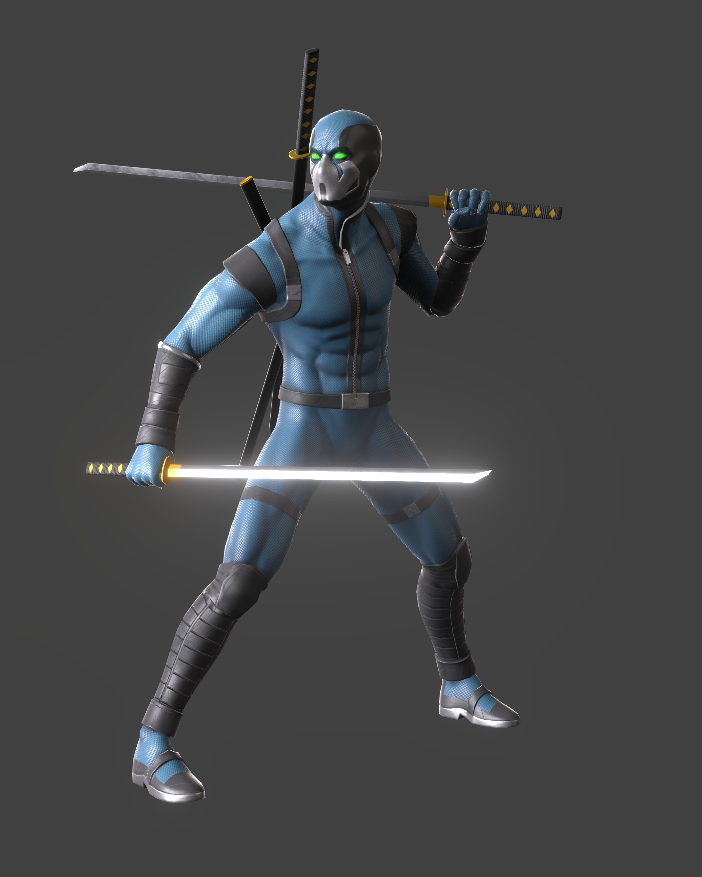 Male Character render