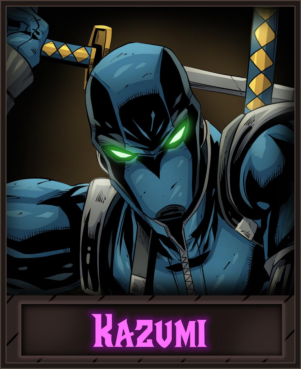 Ninja Illustrated Card