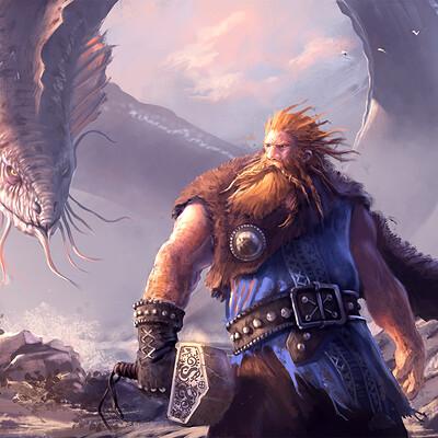 Niklas rhose thor vs midgardserpent 1600