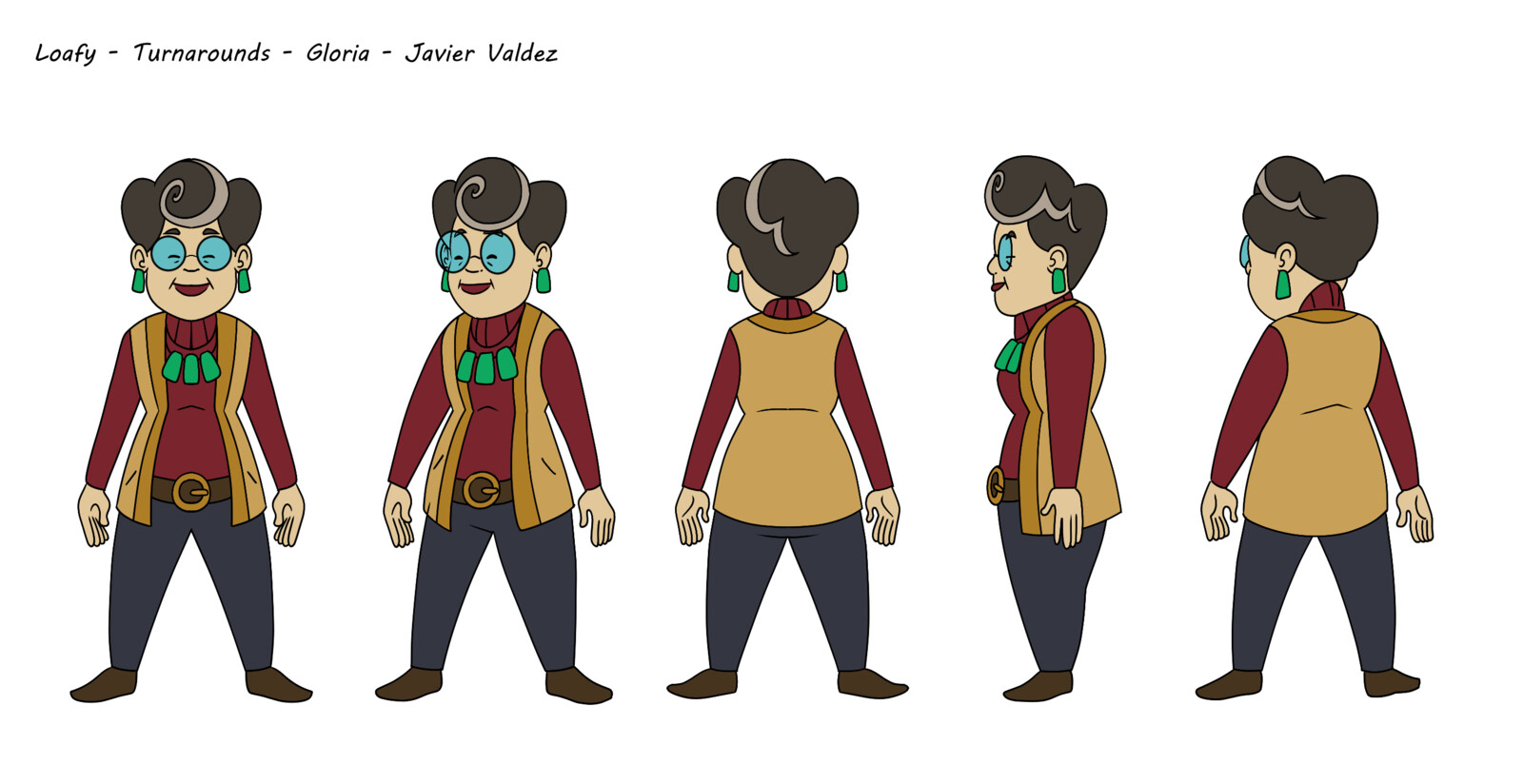 Gloria, voiced by Andrew Levitt