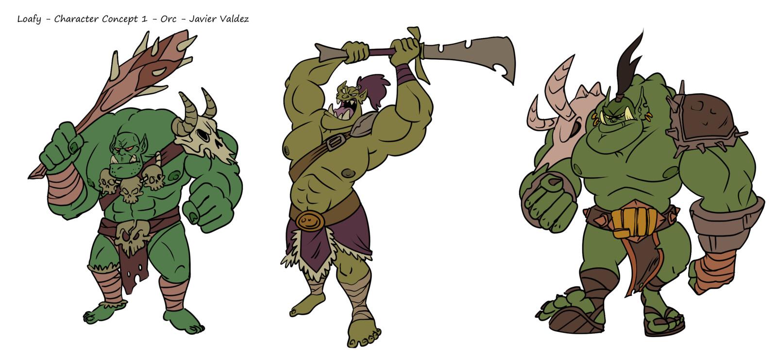 Orc development