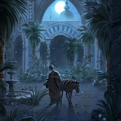 Nele diel the abandoned palace