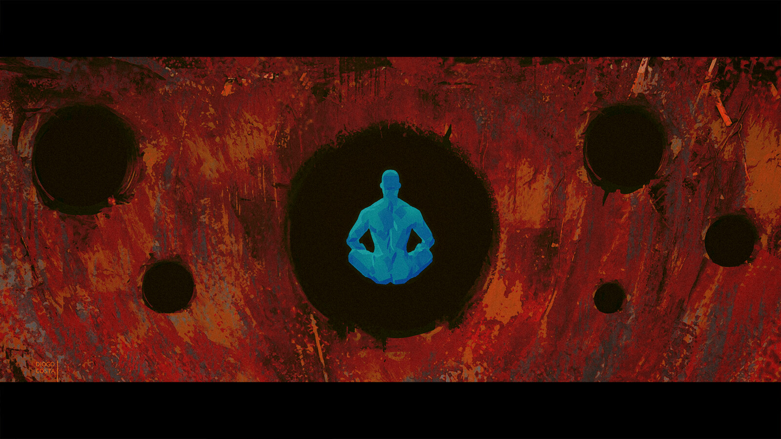 While the World burns, Dr. Manhattan creates life on another planet.