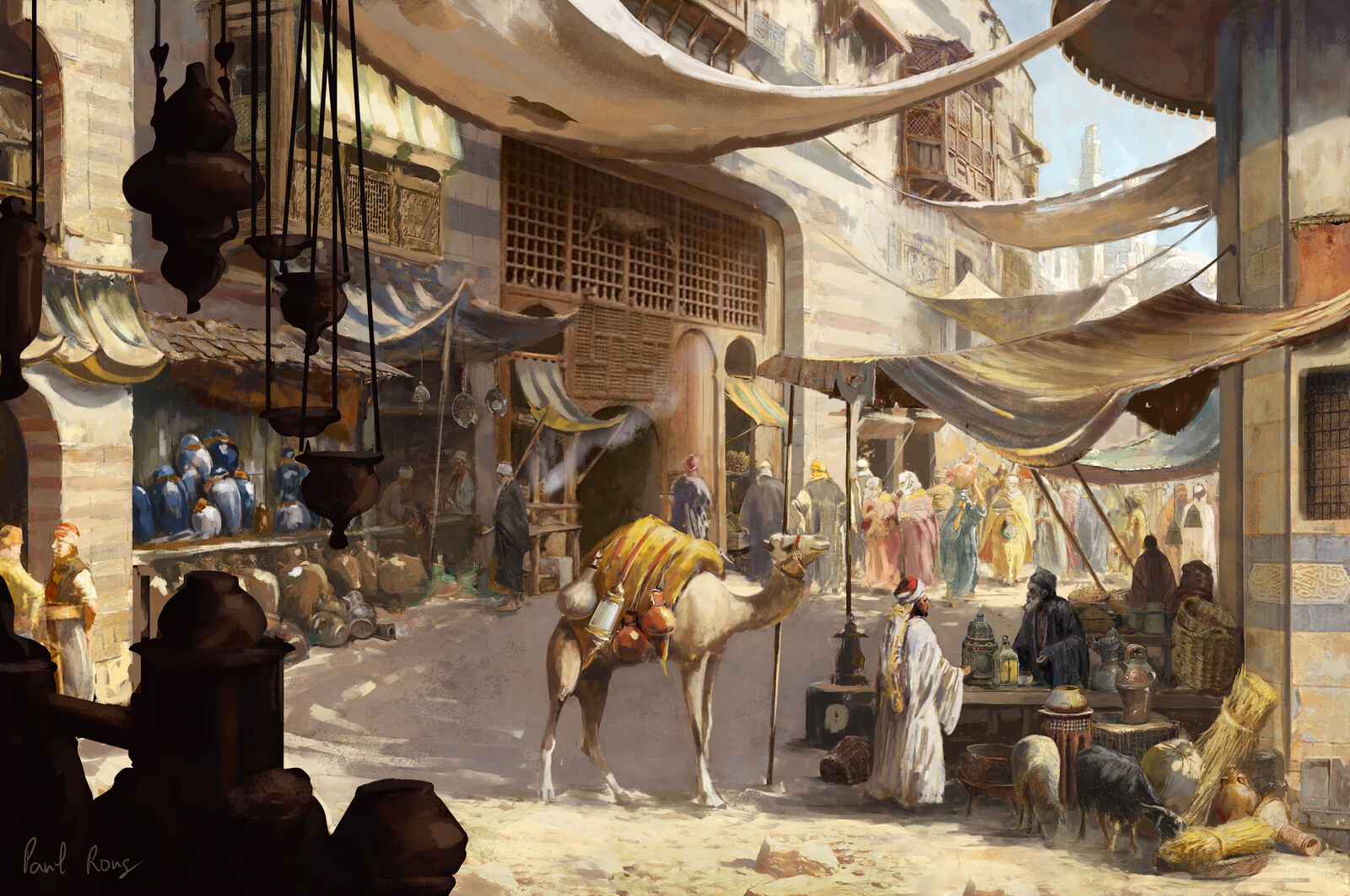 Middle East Trading Street