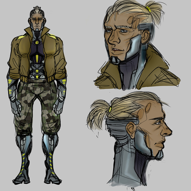 Various Character Design (2018)