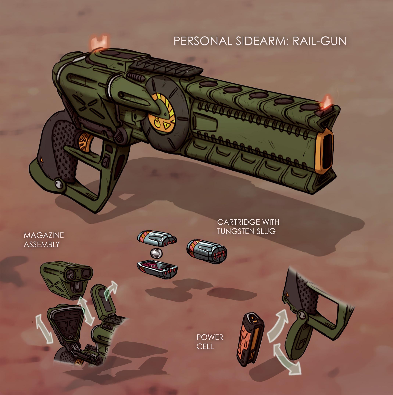Final gun design