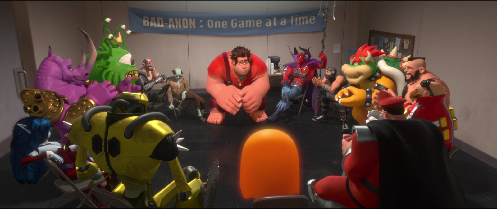 Original Uber Robot - Wreck it Ralph 2012