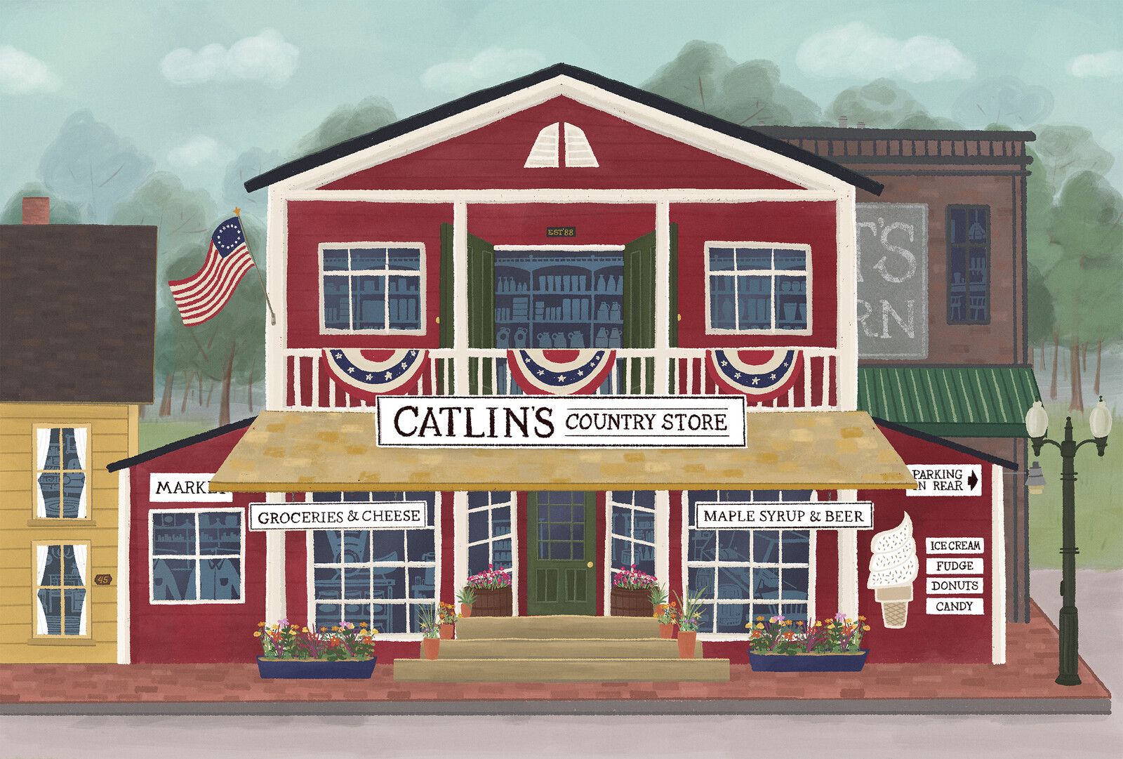 An Old Fashioned Country Store