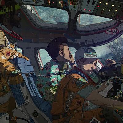 Brx wright distantyield cockpit low