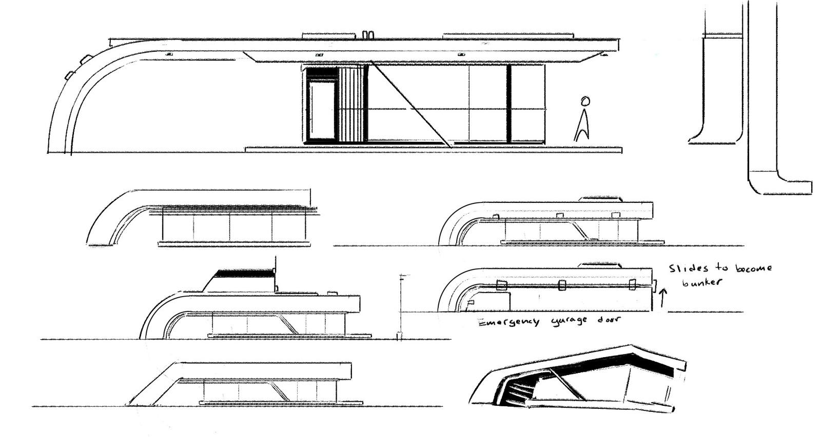 original sketches and ideas