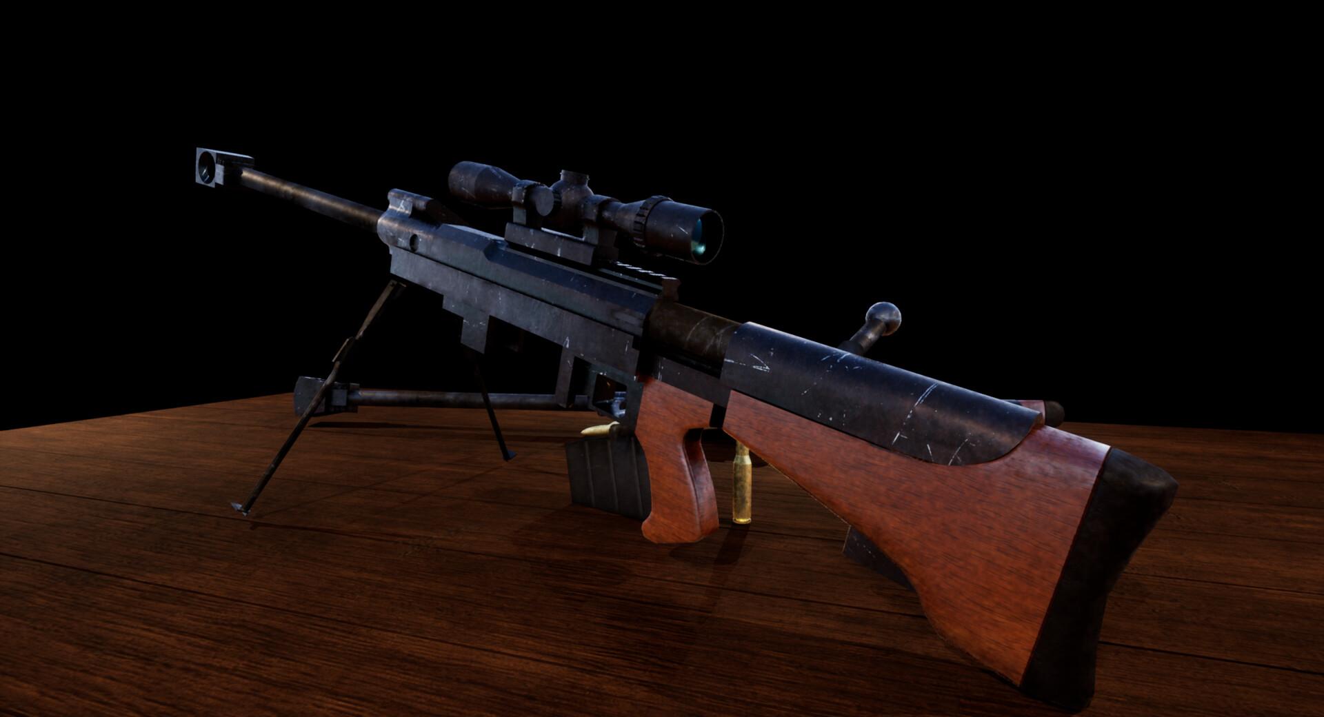 Fallout New Vegas Unique Anti Material Rifle