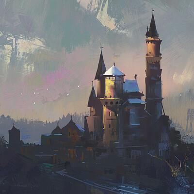 Ayan nag castle study sept 26 artofayan