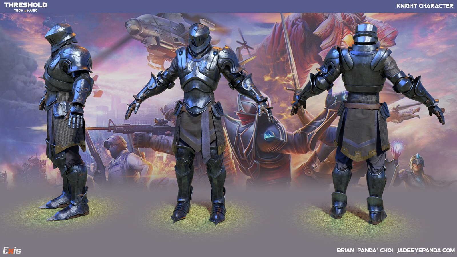 Knight - Threshold: Tech Vs Magic
