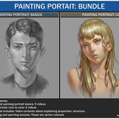 Painting portrait: Bundle