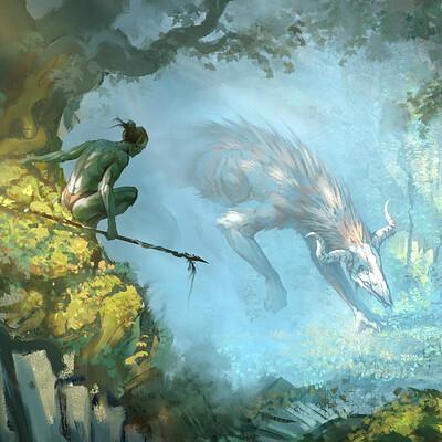 Eben schumacher forest encounter