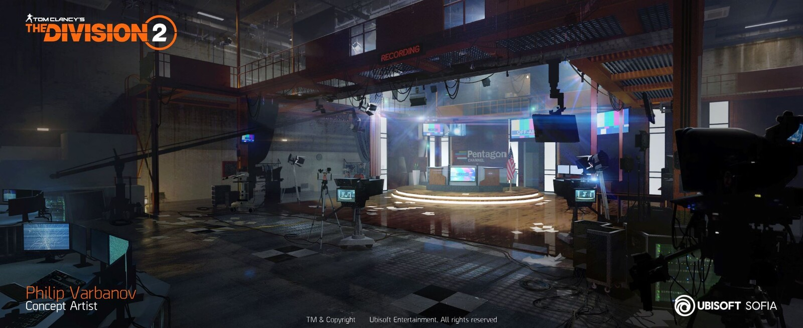 The Division 2 - Pentagon Newsroom