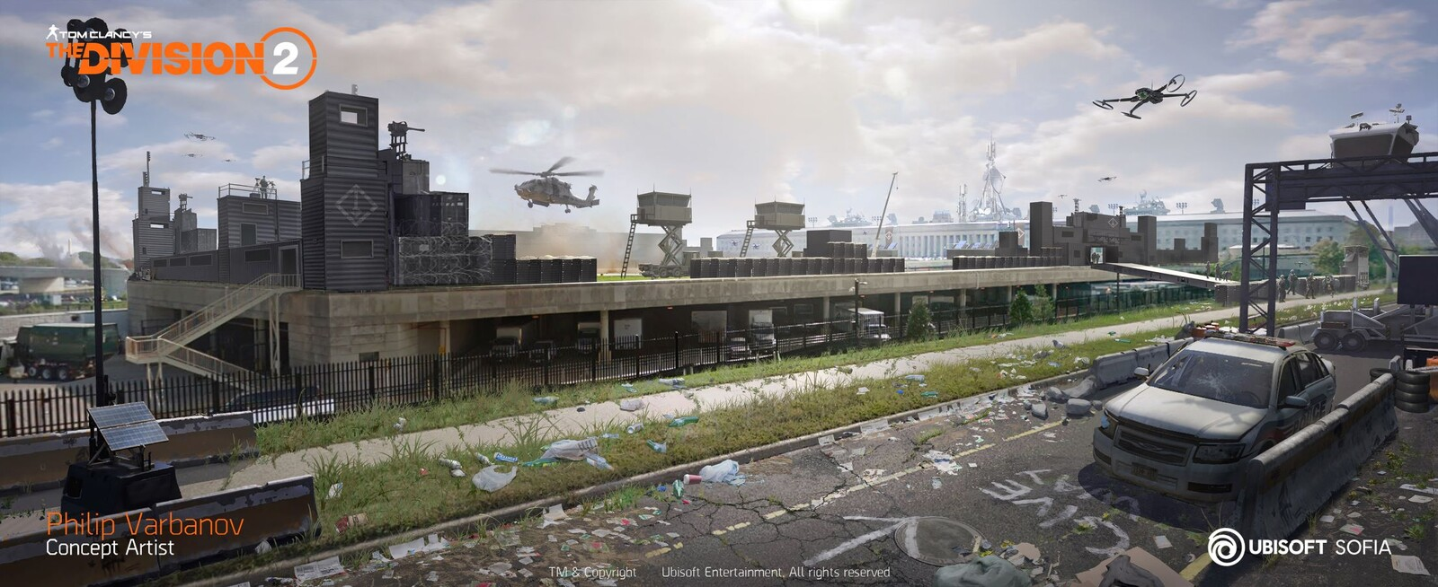 The Division 2 - Pentagon Helipad
